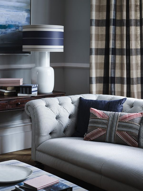 Checkout our new cushions in stock. The coziest, country style decor you can ever wish for in a cold winter evening! By IAN MANKIN UK http://biggiebest.co.il/product-category/cushions/