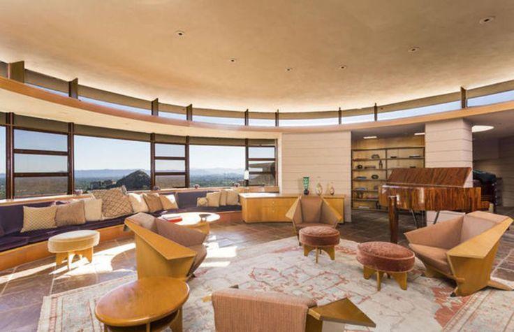 Norman Lykes house - Franck Lloyd Wright - 1959 - 69 - Phoenix - Le Figaro immobilier mars 2016 - photo 09
