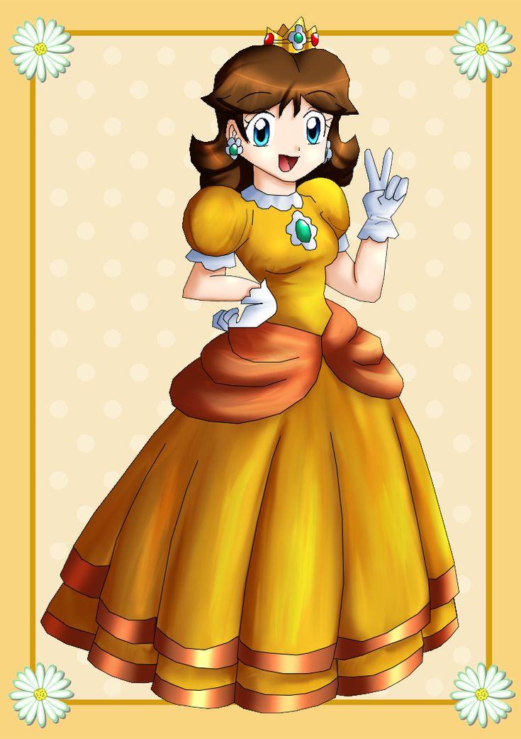 Princess Daisy :3 by Hero-of-Awesome on DeviantArt | ピーチ姫 ...