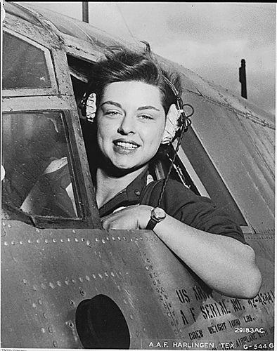 American Air Force Harlingen, WASP Texas, female pilot ww2 by Jo Hedwig Teeuwisse, via Flickr
