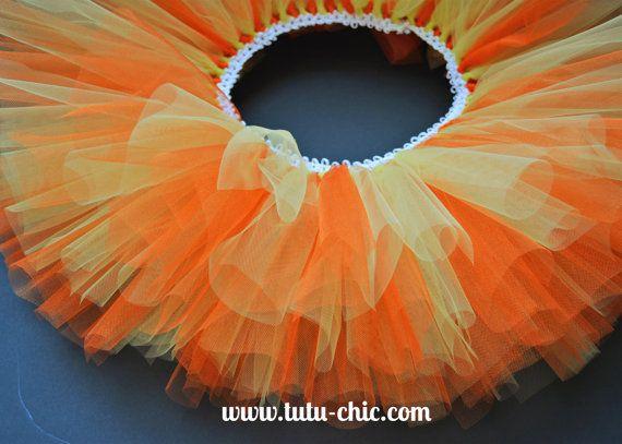 Yellow and orange tutu The Lorax tutu by TutuChicHBBoutique, $17.49