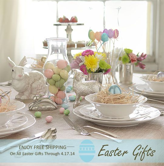 19 best easter gift ideas for kids and babies images on pinterest create a perfect balance on your easter table by combining your egg cellent easter decorations negle Gallery