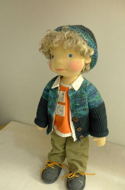 """GABRIEL  18"""" doll boy by Dearlittledoll"""