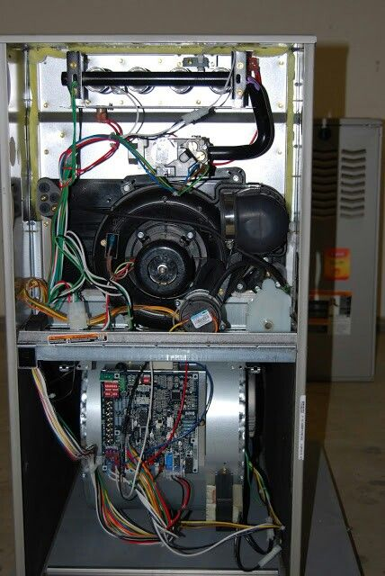 Inside Of A Bryant 925m Gas Furnace By 88hvac Com Gas