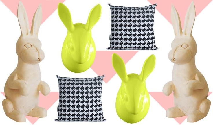 Bountiful Bunnies - Put a Spring in Your Step with Bounce-worthy Décor