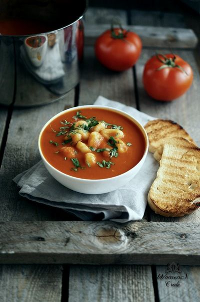 Очень полезный и вкусный томатный суп | Женское кредо