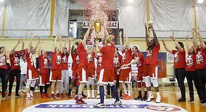 Ολυμπιακός!  Πρωταθλητής Ελλάδος στο γυναικείο basket.