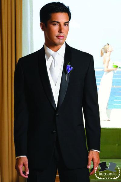 After Six Cyprus modern fit 2 button shawl #tuxedo! #bernardstux
