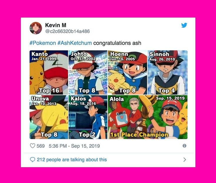 After 22 years 10yearold Ash Ketchum is finally a