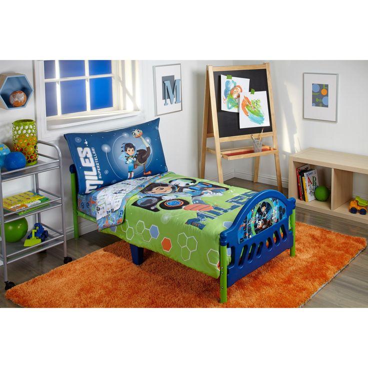Disney Miles from Tomorrowland 4 Piece Toddler Bedding Set - 7626416