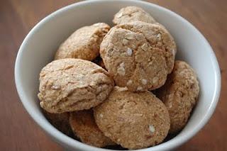 Bananacookies - no fat, little sugar