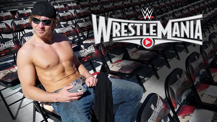Inside the mind of Dean Ambrose at WrestleMania 31 have mercy on my soul dean is shirtless :)
