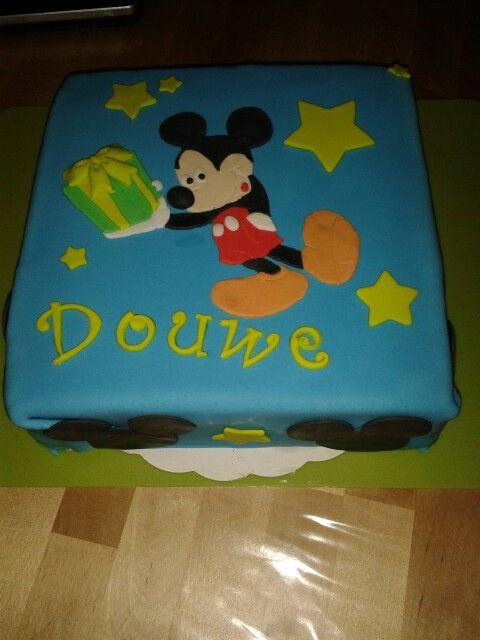 Verjaardagstaart Douwe
