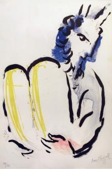 Moise, La Bible, 1956, Marc Chagall  - Irma Bianchi Comunicazione