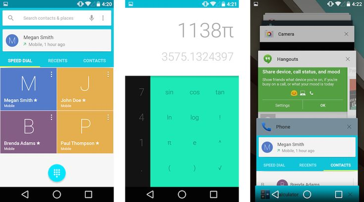 Using Android L: a first look at Google's future  Playful, colorful, and coming this fall