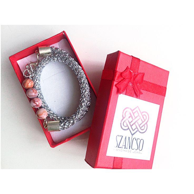 Handmade mineral bracelet