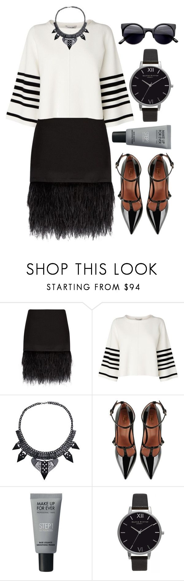 """""""Untitled #700"""" by ssm1562 ❤ liked on Polyvore featuring Polo Ralph Lauren, L.K.Bennett, RED Valentino, MAKE UP FOR EVER and Olivia Burton"""