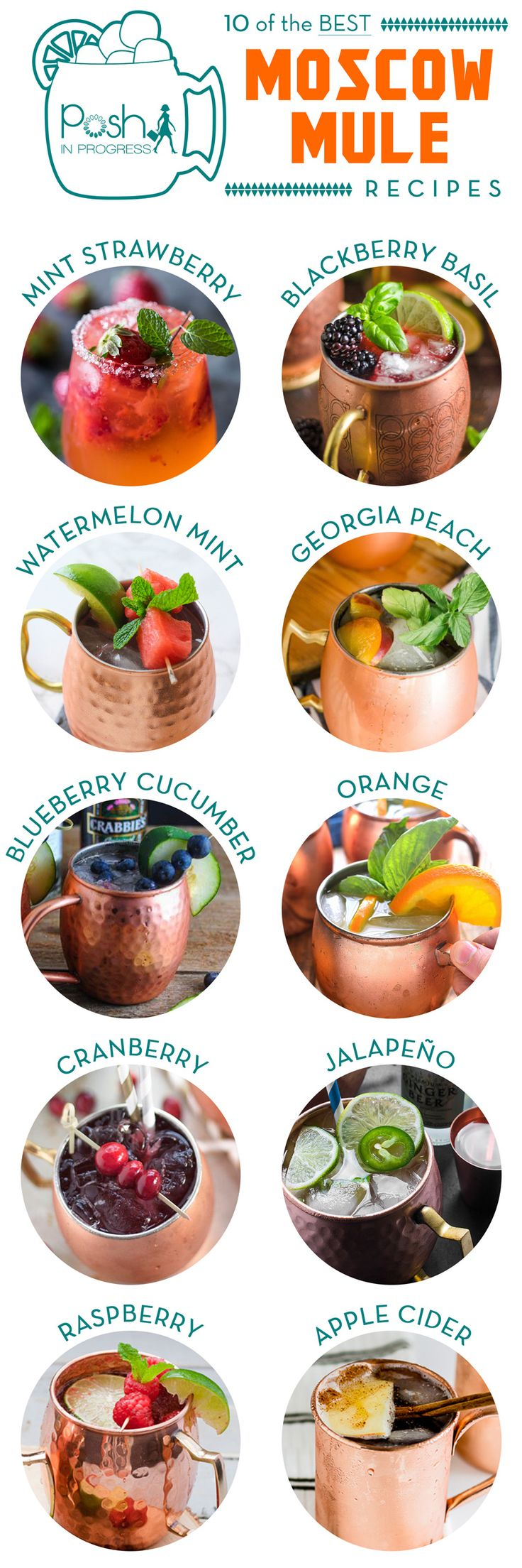 Have you ever heard of a Moscow Mule? It's a mix of ginger beer and any variety of alcohol and flavorings Here some yummy looking recipes I would like to try.