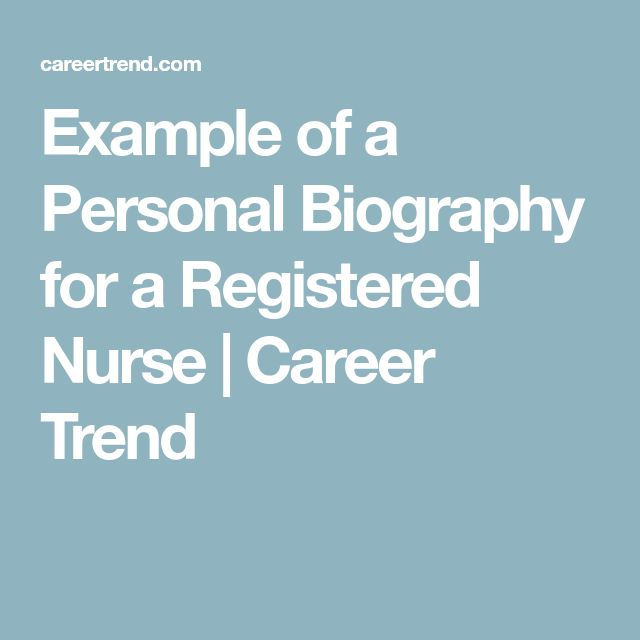 The 25+ best Personal biography examples ideas on Pinterest - biography template