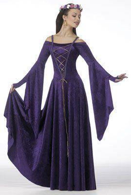 Renaissance Dress   Love it. Except for the straps an  position of arm cloth ~K