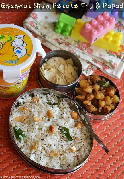 Coconut Rice & Potato Curry - Kids Lunch Box Recipes Idea 15