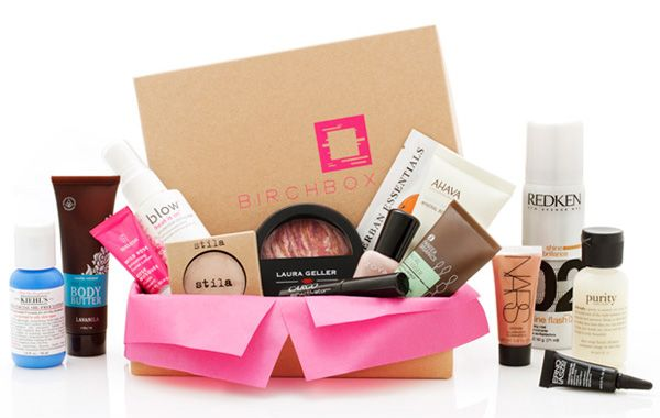 Birchbox. I totally want to do this. For $10 a month, this company will send you a box of high end samples!