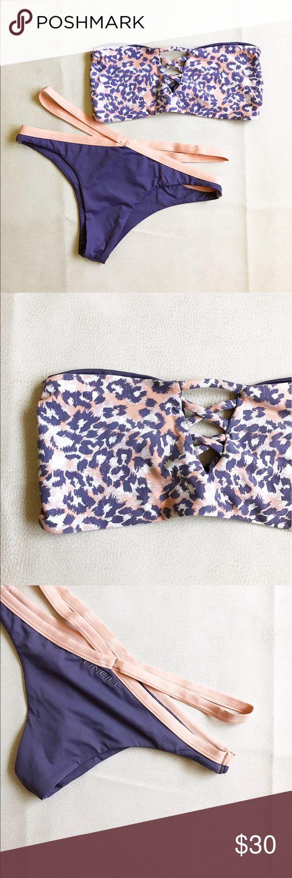 O'Neill Leopard Daze Two Piece Swimsuit Never worn but without tags two piece bikini/swimsuit. O'Neill Swim Bikinis