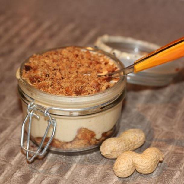 Tiramisu au beurre de cacahuète d'Ella