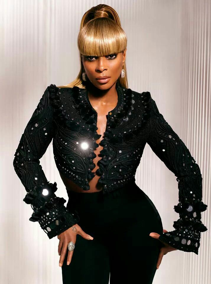 Image result for mary j blige in black sequins