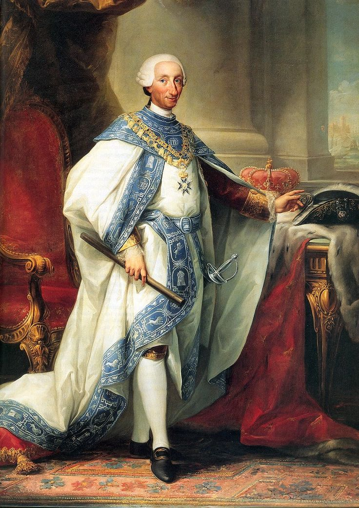 Carlos III of Spain, by Anton Mengs
