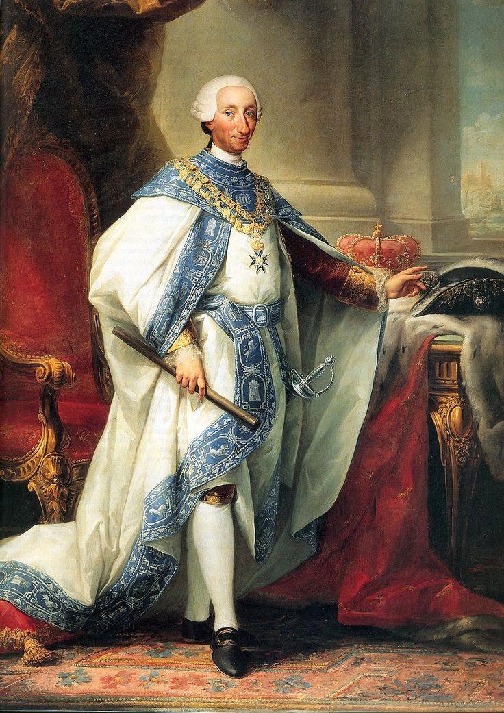 Carlos III of Spain, by Anton Mengs
