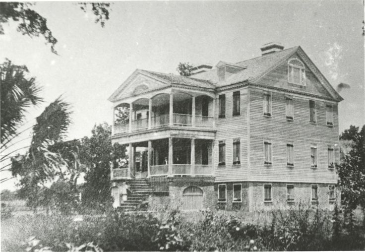 Seabrook Plantation in 1900
