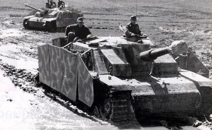 A StuH 42 and a StuG III during 'Operation Bagration' in the Soviet Union,summer 1944. #ripforallsoldiers #artillerie #artillery #notoracism #yestopeace #notowar #wehrmachtwaffenss #waffenss #wehrmacht #ss #wwii #ww2 #war #krieg #history #geschichte #worldwar2 #zweiterweltkrieg #pzkpfwiii #panzergrenadiere #operationbarbarossa  #1939 #1940 #1941 #1942 #1943 #1944 #1945 #88mmflak #flak3688mm PLEASE SUPPORT THESE GUYS: @german_forces_33  @fuehrer_of_photography  @erster_weltkrieg…