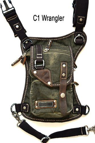 U Koala Bag- - Motorcycle Bag, Hiking Bag, Activity Bag, Hip Bag, Fanny Pack, Shoulder Bag, Leg Bag, Waist Bag, Messenger Bag, Thigh Bag, Holster Bag, Eco-friendly Bag, a Bag You Must Have. (Wrangler Military Green) U Koala http://www.amazon.com/dp/B00JSB7BMM/ref=cm_sw_r_pi_dp_nfoZtb0BKYNPVMK4