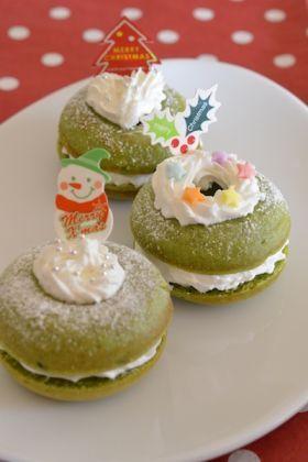 「【クリスマス】デコクリームドナーツ」よーちんママ | お菓子・パンのレシピや作り方【corecle*コレクル】