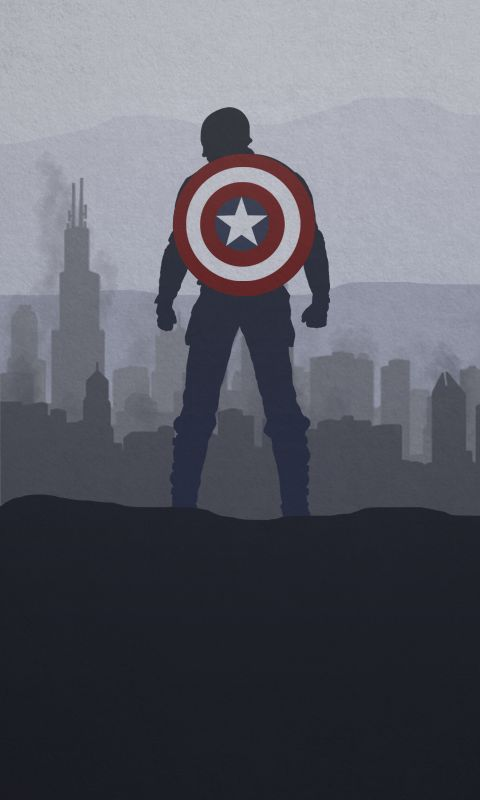 CAPTAIN AMERICA: WINTER SOLDIER - PHONE WALLPAPER by skauf99 on DeviantArt