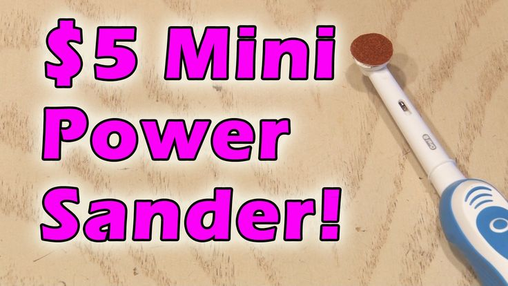 If you like to work with models, miniatures, or small carpentry projects, regular power sanders are too big and powerful. This mine power sander is super easy to build and will make a great addition to your toolkit.