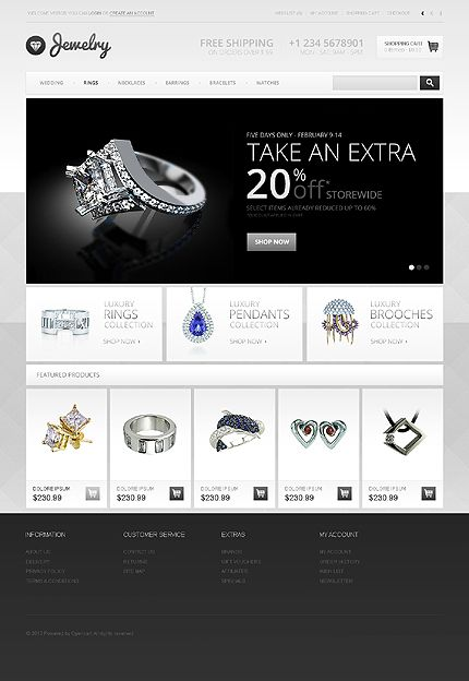 original brand jawely rings template online silver shopping collections ring splash design golden website jewels gold jewelry shop custom websites jewellery store