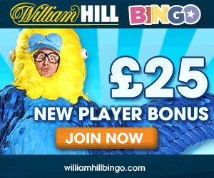 Get $25 Free Bonus at William Bingo. Play Now!