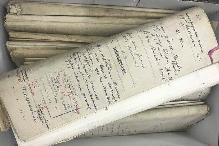 Section 9 documents released by Victorian archives - Secrets of pickpocket family in wartime Melbourne revealed in newly opened police files