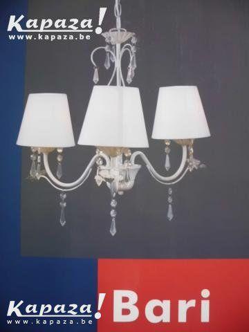 Landelijke hanglamp Bari kristal warmwit, Verlichting, Bierbeek   Kapaza.be