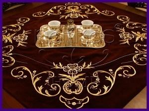 Turk (Maraş işi) work embroidery...