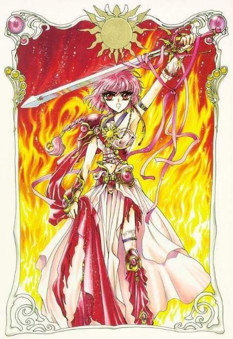 Shido Hikaru - Magic Knight RayEarth