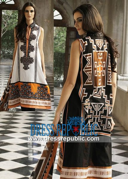 LSM Zunuj Summer Collection 2014 in United States  Shop Online Pakistani Lawn 2014: LSM Zunuj Summer Collection 2014 in Dallas, Houston