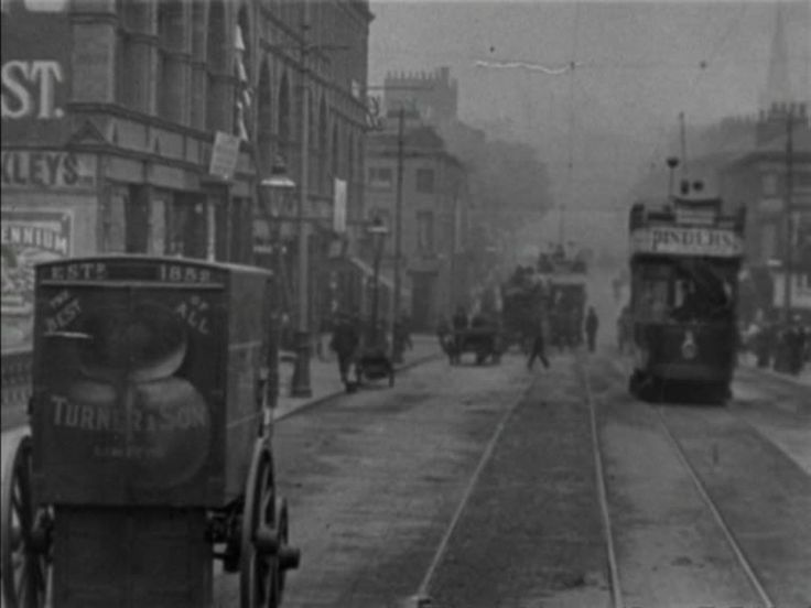Watch Tram Rides through Nottingham - Filmed in 1902 | BFI Player