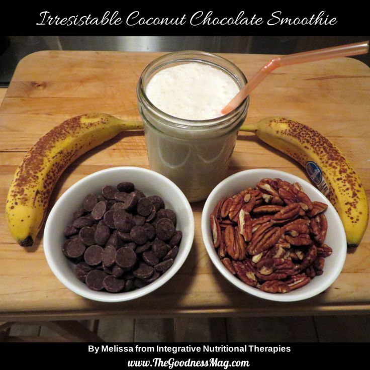This Irresistible Coconut Chocolate Smoothie from Integrative Nutritional Therapies with Melissa Malinowski,... is #raw, #dairyfree and includes #chocolate. Need I say more?  Enjoy a FREE 7 day taste test --> buff.ly/X5KnJL