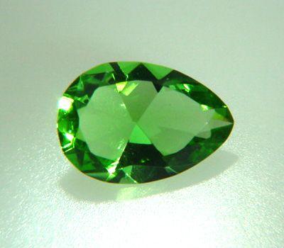 Diamant vert - Pierre précieuse verte
