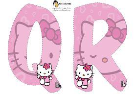EUGENIA - KATIA ARTES - BLOG DE LETRAS PERSONALIZADAS E ALGUMAS COISINHAS: Alfabeto Hello Kitty