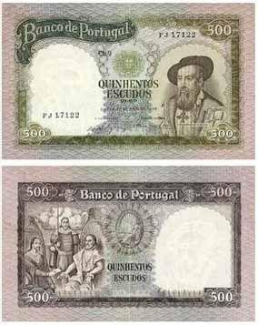 500 escudos II, 1961