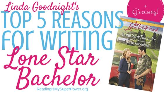 I love chatting with prolific author Linda Goodnight, and today I'm delighted to welcome her back to the blog to talk about her new novel Lone Star Bachelor (June 2017, Harlequin Love Inspired). Winner of the RITA Award for excellence in inspirational fiction, Linda Goodnight has also won the...  Read more »